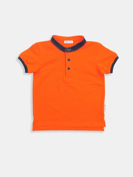 Tricou polo ( Orange 7 ani / 122 cm)
